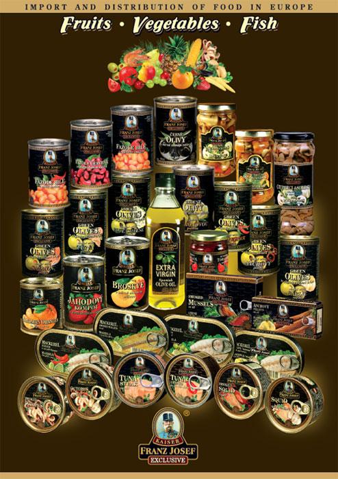 Conserve de fructe, legume, peste